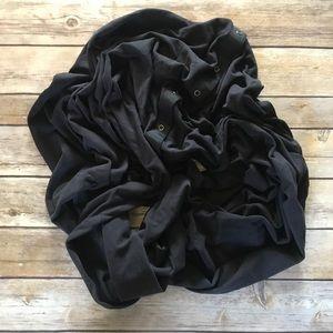 Lululemon • Black vinyasa scarf